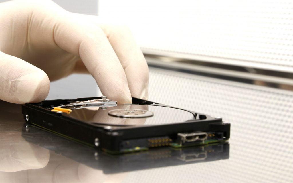 HDD Datenrettung bei mechanischem Defekt